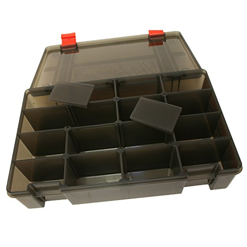 Fox Rage Stack 'N' Store Lure Box 16 Comp Large Deep 356mm x 220mm x 80mm