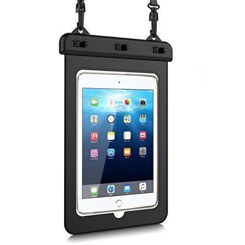 HopMore Wasserdicht Hülle,Staubdicht wasserdichte Tasche Durchsichtig Schutztasche für iPad Mini 1/2/3/4, Huawei MediaPad M5 / M3 Lite / M3 / T3 8