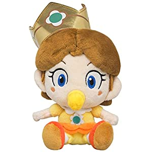 "Little Buddy 1728 Super Mario All Star Collection Baby Daisy Plush, 6"" - 41hbYPIdktL - Little Buddy 1728 Super Mario All Star Collection Baby Daisy Plush, 6″"