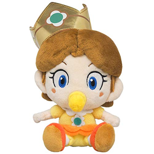 Little Buddy 1728 Super Mario All Star Collection Baby Daisy Plush, 6'
