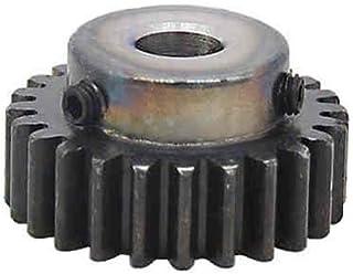 bore: 8mm 1 Mod 48T Pinion Gear 1M48T Motor Spur Gear Bore 8mm Outer Dia 50mm Teeth Length 10mm