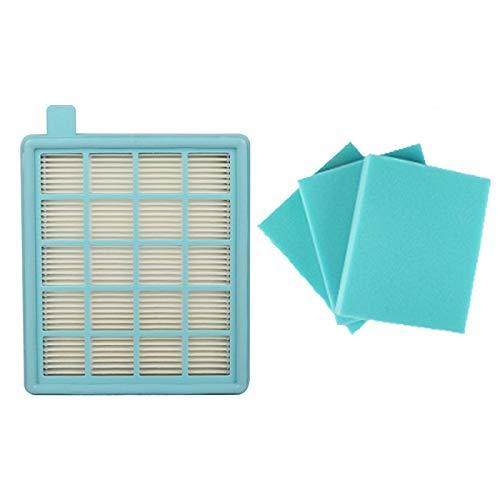 IUCVOXCVB Accesorios de aspiradora Cotton/Motor Inlet/Filtro de Espuma de Escape + Filtro HEPA Ajuste para Philips Vacuum Cleaner FC8470 FC8471 FC8472 FC8473 FC8474 FC8476 FILTROS (Color : As Show)