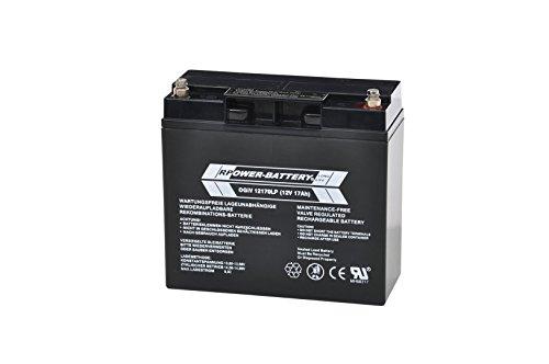 12V 17Ah RPower AGM Batería/Batería de plomo SAI Batería corriente de emergencia luz de emergencia plomo batería