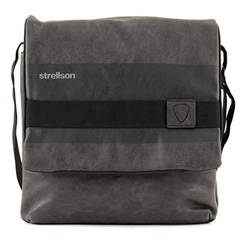 Strellson Finchley Umhängetasche MVF 802 dark grey
