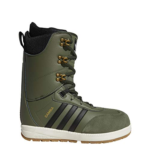 adidas Samba ADV Snowboard Boots Base Green/Core Black/Off White 12.5uk / Base Green/Core Black/Off White