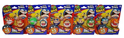 Gobsmax Goliath 32932 Verschiedene Sammel- und Spielfiguren-Sets Jaw Dropping Action für Kinder (5er Set Skimmer)