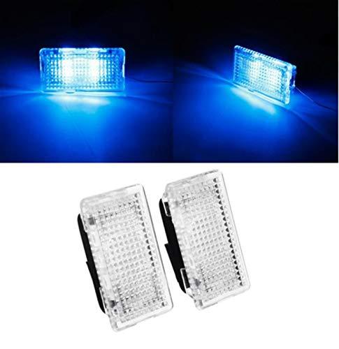 Luces de estacionamiento Compatible con TESLA Modelo 3 S X Puerta LED Transporte de la luz Interior del pie de la luz Ultra Brillante Coche interior Iluminación interior Atmósfera Lámpara Luces Luces