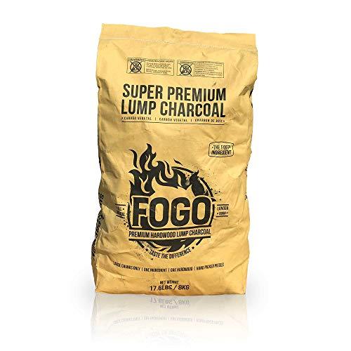Fogo Super Premium Hardwood Lump Charcoal 17.6-pound Bag