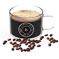 Bestinnkits Heat-resistant Large Wide Mouth Hot and cold Beverage Mugs