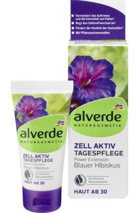 alverde NATURKOSMETIK Tagespflege Zell-Aktiv Blauer Hibiskus, 50 ml