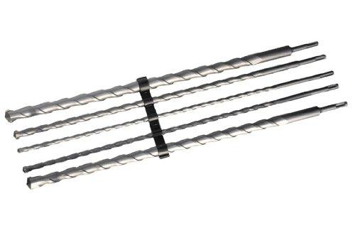 5pc x 600mm SDS-Plus Masonry Drill Bit Set