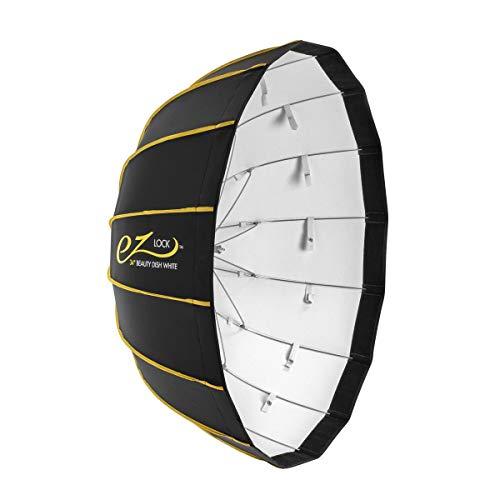 "Glow EZ Lock Collapsible White Beauty Dish (34"")"