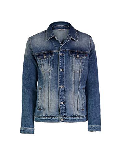 LTB Jeans Jungen Santino B Jeansjacke, Newland Undamaged Wash 53215, 8
