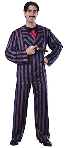 Rubie's Gomez Addams Family Adult Costume, Black, X-Large