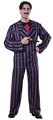 Rubie's Men's The Addams Family, Gomez Adams Adult Costume, Black, Standard