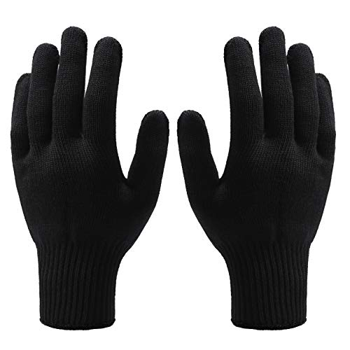 Aneco 4 Pieces Heat Resistant Gloves Hair Styling Gloves for Hair Styling...
