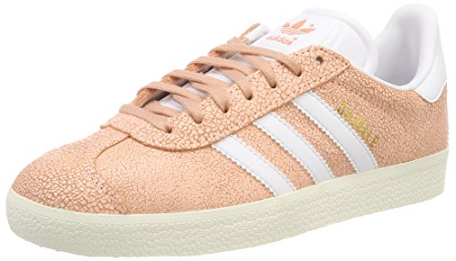adidas Gazelle W, Zapatillas para Mujer, Naranja (Clear Orange/Footwear White/Off White 0), 38 2/3 EU