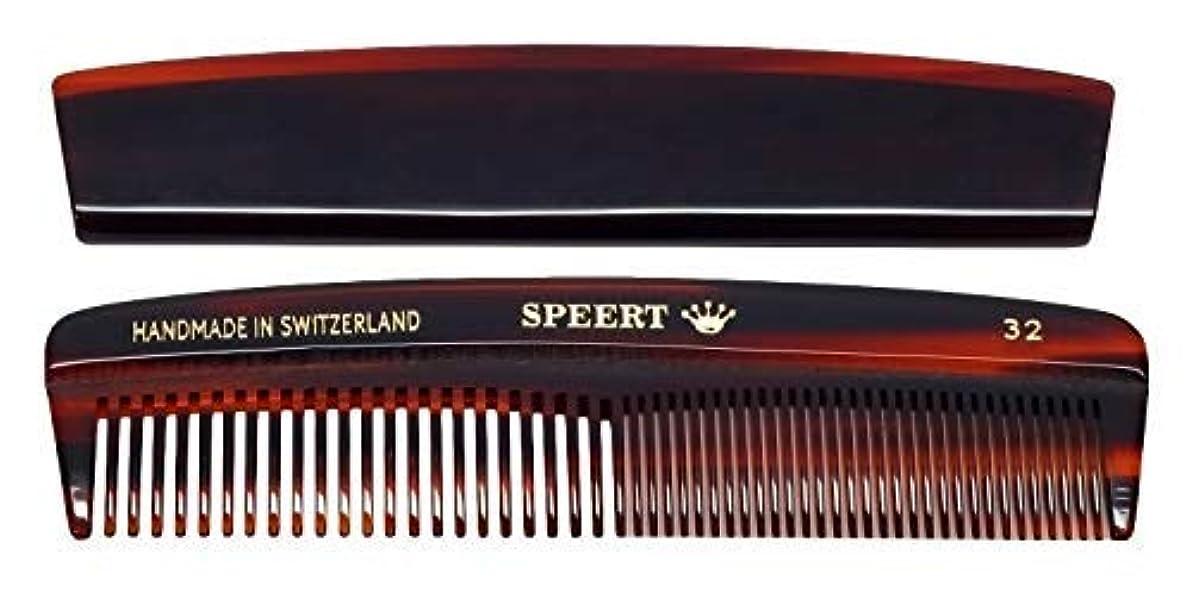 シンプルさ多様性あそこHand-made tortoise comb by Speert [並行輸入品]