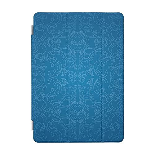 Funda para iPad de 7ª generación, color azul 8Th Gen W 10.2 y Retina y iPad Case iPad 7ª generación, ultra delgada, ligera, funda protectora para iPad 7