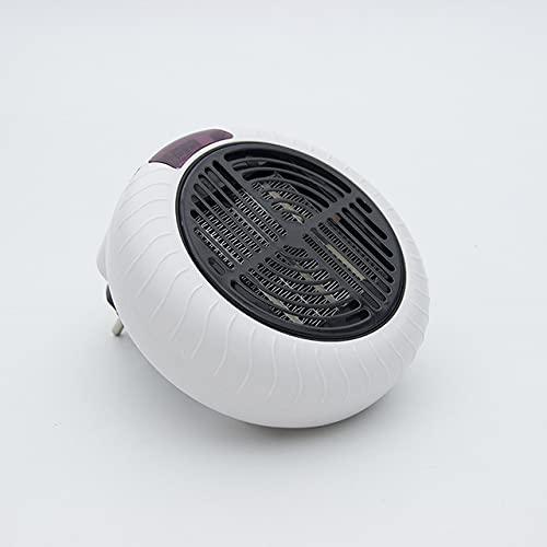NiLeFo Calefactor de Espacio Portátil Calentador Electrico,Calefactores Cerámicos,1000W con Enchufe Eléctrico, para El Hogar/La Oficina (Blanco)