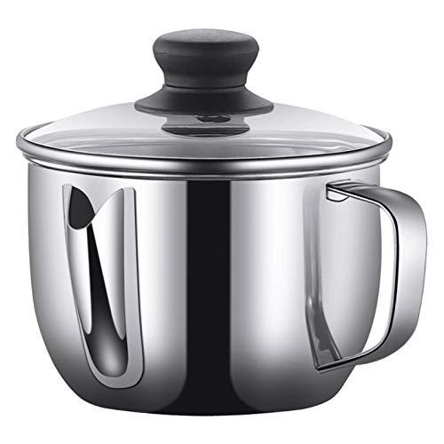 DFFH 1000ML Olla de Colador de Aceite Filtro Aceite Oliva Cocina con Malla Fina Colador para Aceite de Cocina, Aceite para Freír