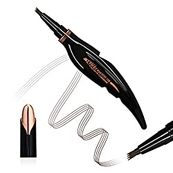 Eyebrow Pencil Water Resistant Eyebrow Pencil Tattoo Eyebrow Pencil Define a Highly Natural Makeup Bobbie Flow (Dark Brown)