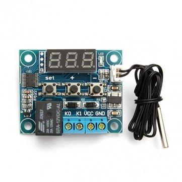 Hohe Qualität DC 12V -50 bis 110 Temperatur-Schalter Heizen Kühlen Temp Thermostat Thermometer
