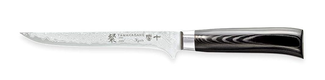 Tamahagane SAN Kyoto Mikarta Stainless Steel Boning Knife, 6-Inch