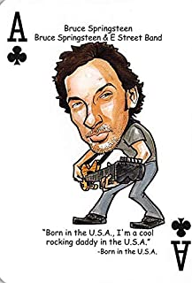 Bruce Springsteen trading card (E Street Band, Born in the USA) 2019 Hero Decks Tribute to Rock #A