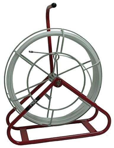 APIEX - Guia pasacables electricista de acero flexible recubierto de nylon 100...