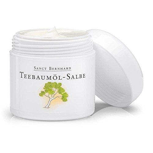 Sanct Bernhard Teebaumöl-Salbe mit Jojobaöl, Avocadoöl, Ringelblumenöl, Getreidekeimöl 100 ml
