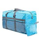 "REDCAMP 75L Extra Large Duffel Bag Lightweight & Multifunction, 25"" Water Resistant Travel Duffle Bag for Men Women, Blue"