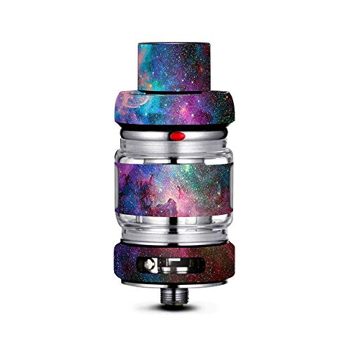 IT'S A SKIN Decal Vinyl Wrap Compatible with FreeMax Mesh Pro Tank/Colorful Space Gasses