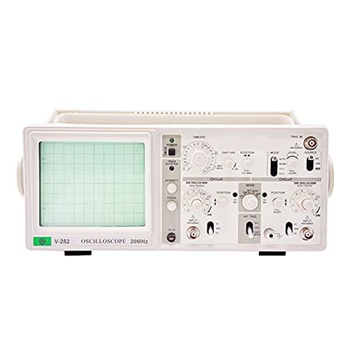 Osciloscopio analógico de 100MH-Z DC, 10 juegos de almacenamiento CRT 10, Simulación de cuatro vías de paso dual el mercado del bricolaje