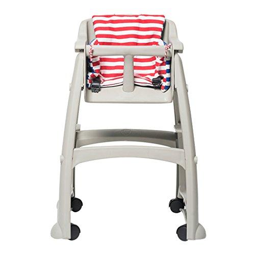 Chaise de Salle à Manger pour Enfants Chaise de bébé Chaise pour bébé Chaise d'appoint pour bébé Baby dinette Chaise pour Enfant pouvant être déplacée (Color : Gray, Size : 54cm*59cm*76cm)