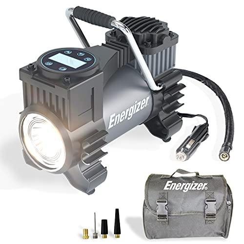 Energizer Air Compressor Portable Tire Inflator,...