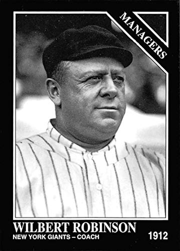 1993 Conlon Collection Baseball #846 Wilbert Robinson New York Giants MG Official MLB Trading Card From The Sporting News