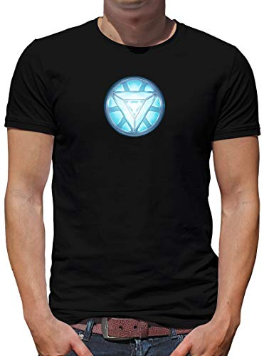 TShirt-People Arc 3 Reactor - Camiseta para hombre, diseño de Iron Tony Negro L