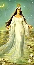 Yemaya Orisha Goddess Yemaya Madre Agua Tarjeta Con imagen
