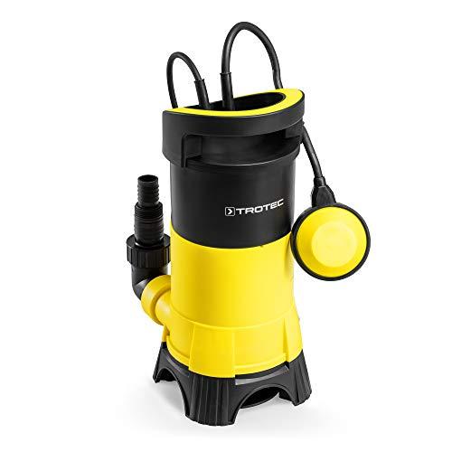 TROTEC Schmutzwasser-Tauchpumpe TWP 11025 E 1100 Watt Förderhöhe 11 m bis 15.000 l/h