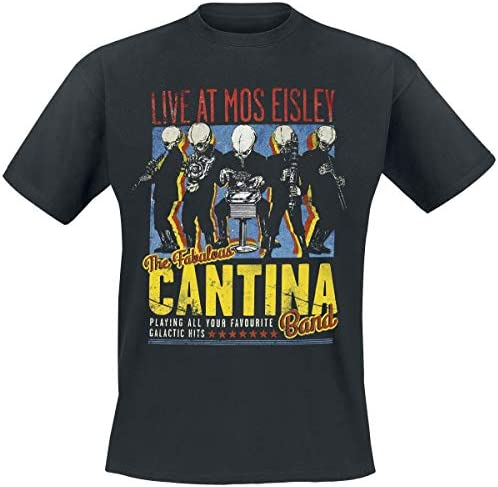 Bravado Star Wars-The Fabulous Cantina Band Camiseta para Hombre