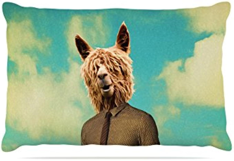 Kess InHouse Natt Passenger 15A  Duck Fleece Dog Bed, 30 by 40