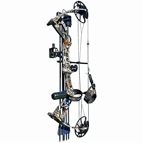 sanlida Archery 2021 Dragon X8 Hunting Compound Bow and Arrow Package for Adults and Teens/Limbs Made in USA/Life-Time Warranty Services