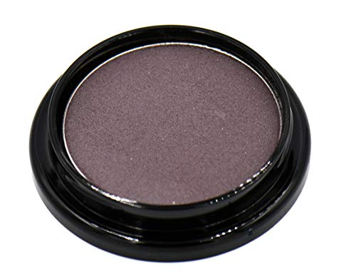 Smokey Plum Dark Purple Violet Brown Matte Opaque Pressed Powder Eye Shadow Eyeshadow Talc & Paraben Free Vegan No Animal Testing & Cruelty Free Matte eyeshadow