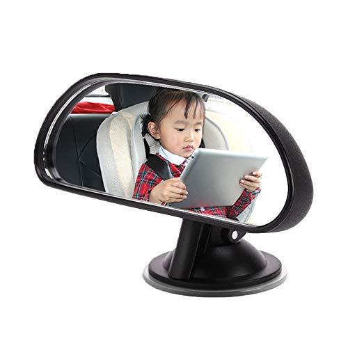 GoolRC Baby Car Mirror Espejo retrovisor Convexo Wide View Ventosa Espejo