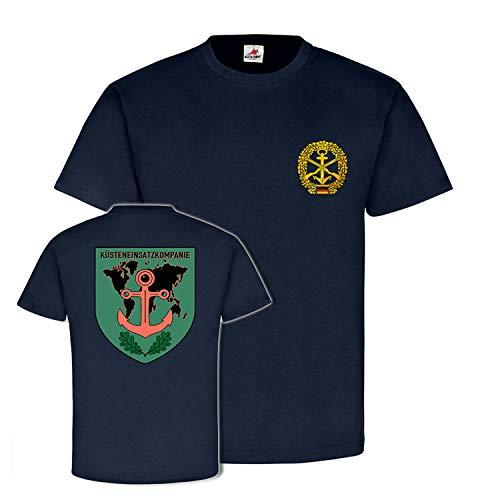 Copytec Küsteneinsatzkompanie KEK Marine BW Marinesicherung Wappen Abzeichen #25511, Größe:M, Farbe:Dunkelblau