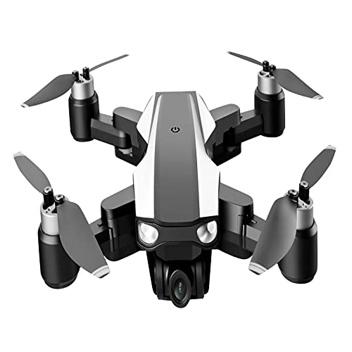 FDSGEWW Telecomando Brushless con Luce Drone Pieghevole 4K Ultra-Long Endurance GPS7.4V 2500MAH Indoor E Outdoor