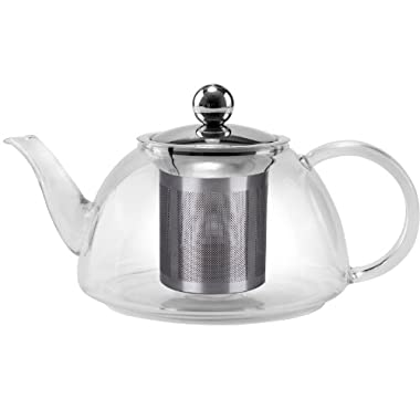 Uniware premium quality Stove safe Glass kettle , 800 ml