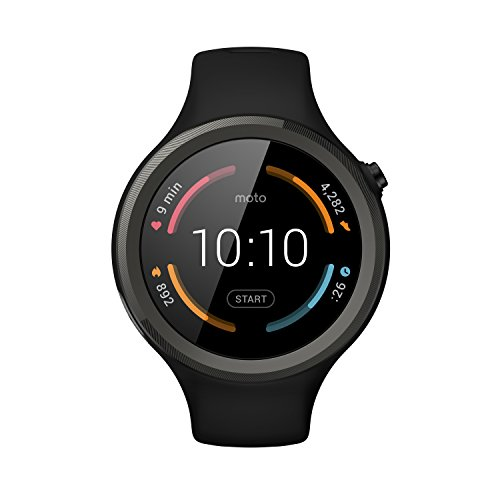 Motorola Moto 360 Sport - 45mm, Black