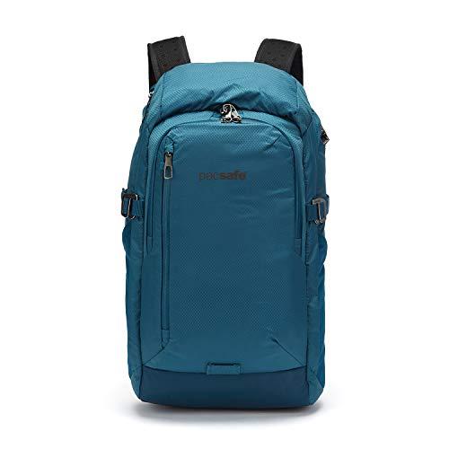 PacSafe Venturesafe X30-30L Anti-Theft Outdoor/Adventure-Ergonomic Design Hiking Backpack, Blue Steel, One Size